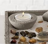 Декоративный набор «Дзен» подсвечник с фигурой Будды D19 см, фото 6