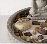 Декоративный набор «Дзен» подсвечник с фигурой Будды D19 см, фото 8