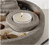 Декоративный набор «Дзен» подсвечник с фигурой Будды D19 см, фото 10