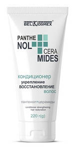Кондиционер для укрепления и восстановления волос PANTHENOL CERAMIDES BelKosmex 220г.