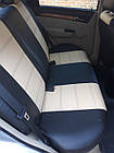 Чехлы на сиденья Пежо Партнер (Peugeot Partner) (1+1,универсальные, кожзам, с отдельным подголовником), фото 6