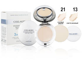 Пудра Enough Collagen 3in1 Whitening Moisture Two Way Cake 13
