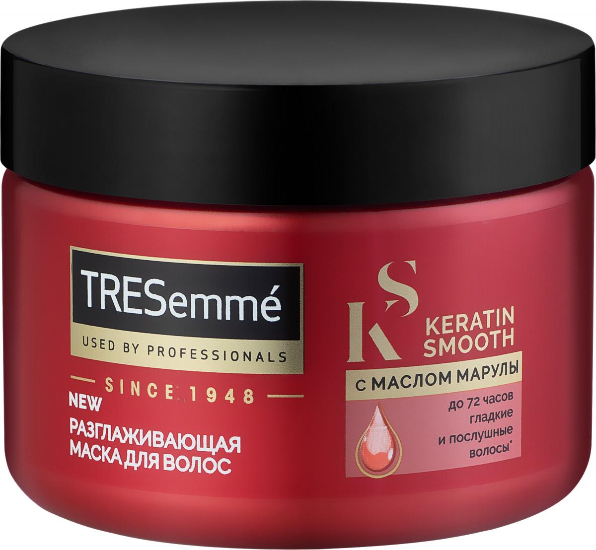 Маска для волос Tresemme Keratin Smooth разглаживающая 300 мл арт.7398