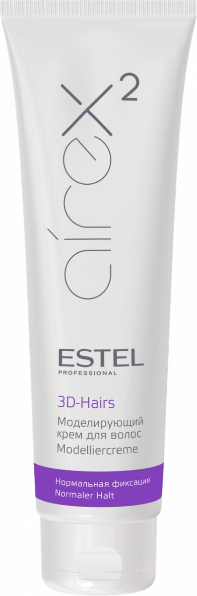 Моделирующий крем для волос Estel 3D-HAIRS AIREX нормальная фиксация 150 мл