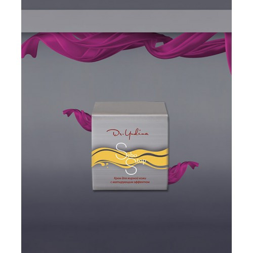 Крем для жирной кожи с матирующим эффектом Sebo Stop Dr.Yudina 50мл арт.M2