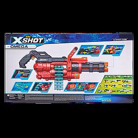 Скорострільний бластер X-Shot Excel Omega (обойма на 30 патронів, 98 набоїв) (36430Z)