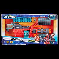 Скорострельный бластер X-Shot Excel Omega (обойма на 30 патронов, 98 патронов) (36430Z), фото 2