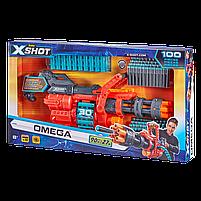 Скорострельный бластер X-Shot Excel Omega (обойма на 30 патронов, 98 патронов) (36430Z), фото 3