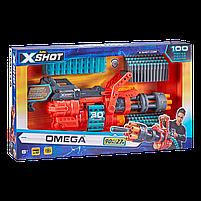 Скорострельный бластер X-Shot Excel Omega (обойма на 30 патронов, 98 патронов) (36430Z), фото 4