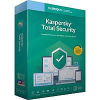 Kaspersky Total Security 2020, 1 ГОД, 2 УСТРОЙСТВА