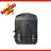 Мужской кожаный городской рюкзак Leadhake, Рюкзак мужской, городской, міський
