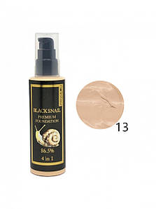 Тональный крем Privia U Black Snail Premium Foundation 4в1 100 мл 13