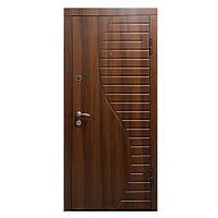 Двери входные металлические Министерство дверей 860*2050 правая ПК-23+ орех белоцерковский