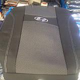 Авточехлы Ника на Hyundai Santa Fe CM 2006-2012 5 мест Nika Хюндай Сантафе, фото 3