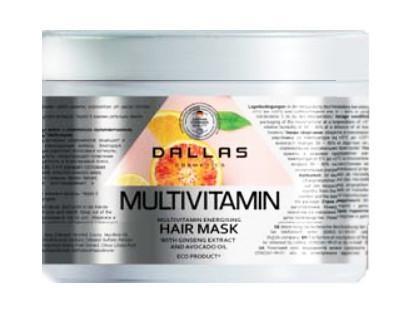 Маска для волос MULTIVITAMIN Dallas Cosmetics 500g