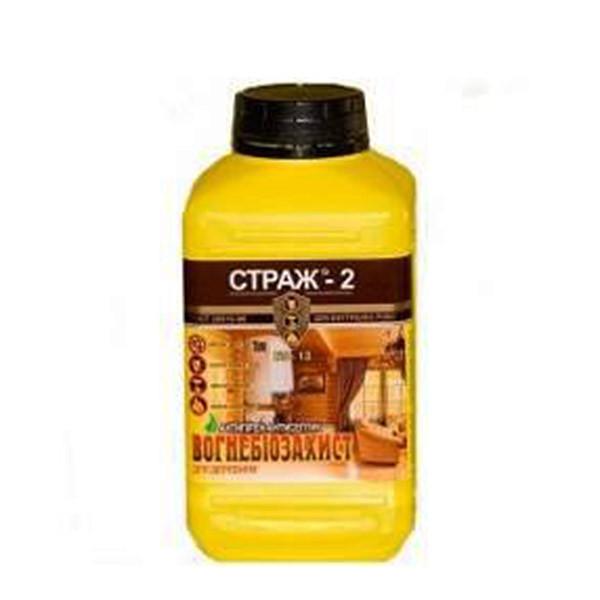 Антисептическая биоогнезащита для древесины Страж-2, БС-13, 1 л