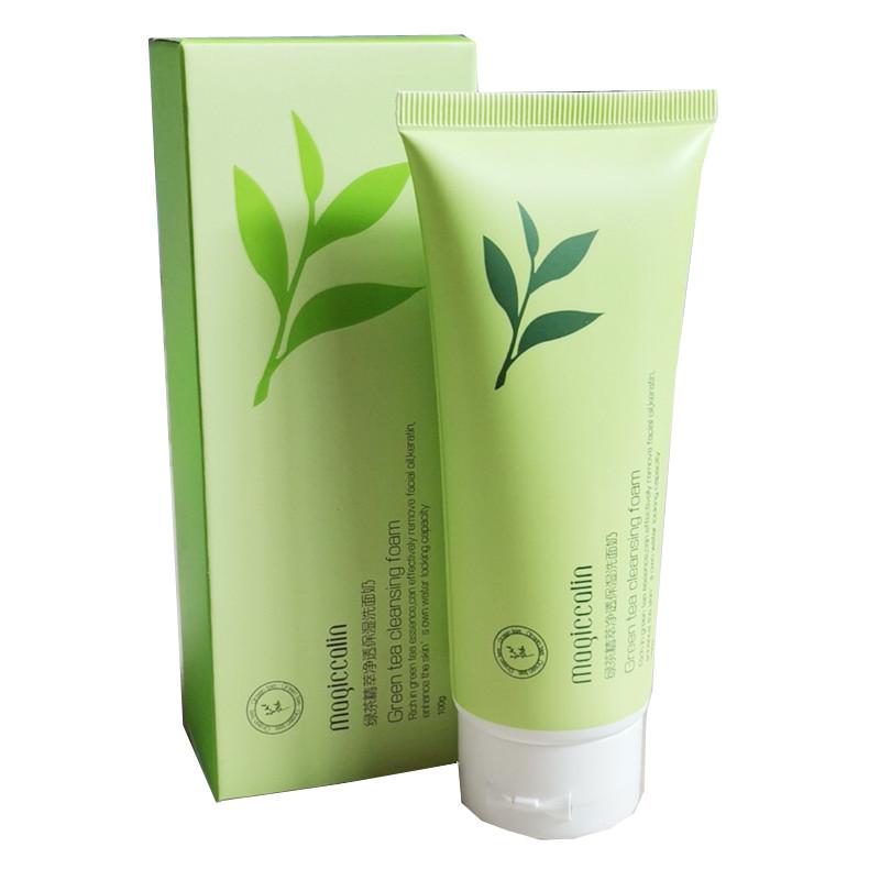 Пенка для умывания Мogiccolin Green Tea Cleansing Foam