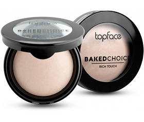 Пудра запеченная Topface Baked Choice PT701 №01 Natural