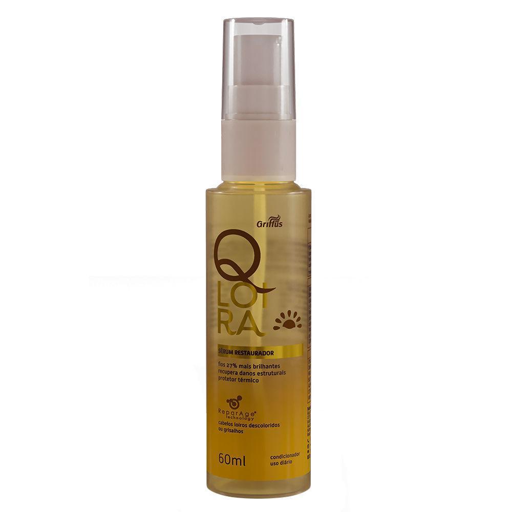 Серум восстанавливающий для светлых волос БЛОНД Griffus Serum restaurador Qloira 60ml