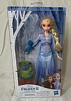 Лялька Ельза з саламандрою і тролем Frozen Elsa Fashion Doll