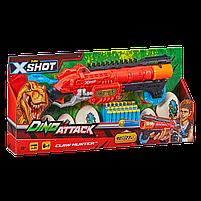 Скорострельный бластер Dino X-Shot claw hunter (2 средних яйца, 4 маленьких яйца, 24 патрона) (4861), фото 2