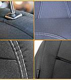 Авточехлы Ника на  HYUNDAI i 40 от 2011- Хюндай и 40.задняя спинка закры, фото 10