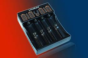 Зарядний пристрій LiitoKala Lii-402 для АА, ААА, 18650, 16340 та ін. акумуляторів + Power Bank.