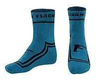 Носки термотреккинговые Flagman Extra Heat Merino Wool Midle Blue 44-45 L