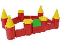 Набор строительных элементов крепость 1 технок
