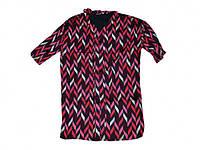 Сукня з принтом жіноча р.S (укр.42-44) рожева 20602375 ТМFRANSA (код 1183046)