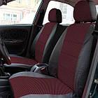 Чехлы на сиденья Форд Сиерра (Ford Sierra) (универсальные, кожзам, с отдельным подголовником), фото 6