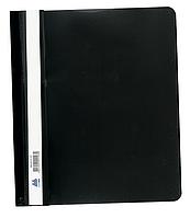 Швидкозшивач А5 пластиковий чорний, Buromax (12)