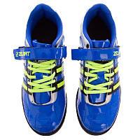 Штангетки-кросівки для пауерліфтингу гирьового спорту, важкої атлетики ZELART PU Сині (OB-1265) 39