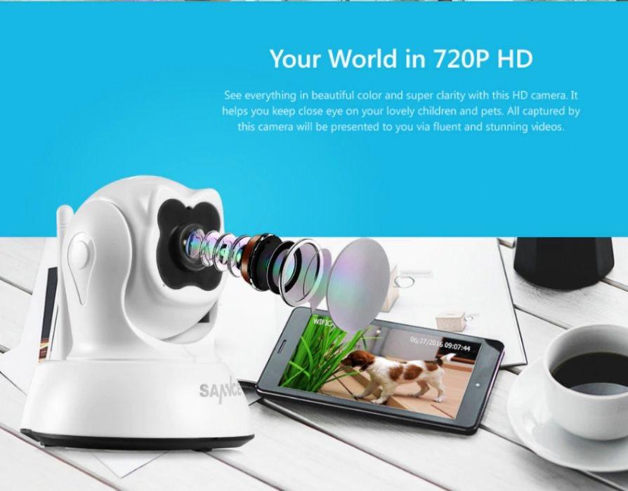 Поворотная ip-камера Wi-Fi SANNCE 720 Оригинал
