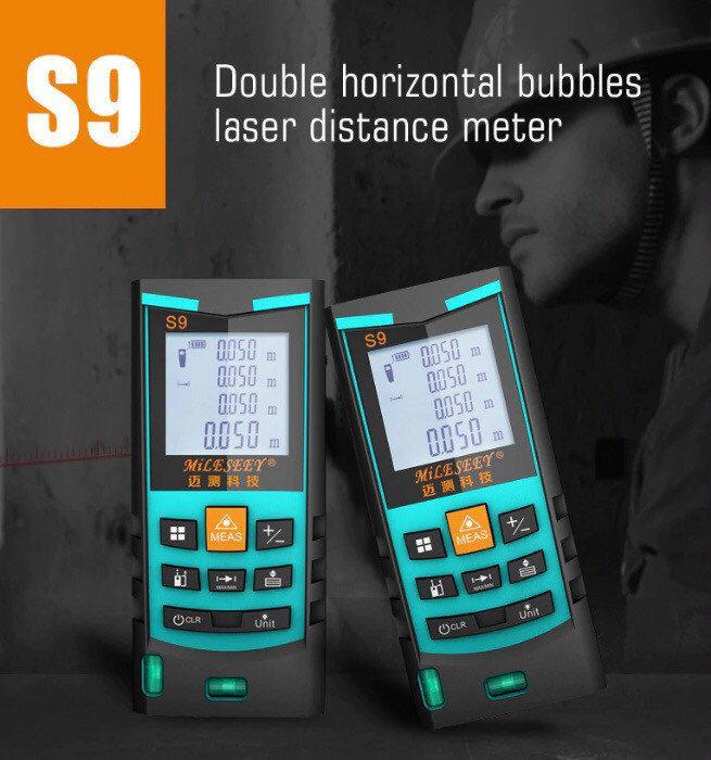 Лазерная рулетка Mileseey S9 Pro 50m Original