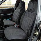 Чехлы на сиденья Фиат Дукато (Fiat Ducato) 1+2  (модельные, автоткань, отдельный подголовник, логотип), фото 5