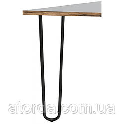 Опора мебельная трубчатая двойная Kapsan KMA-0015 h=710 мм Белая (KMA-0015-0710-B12)