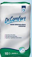 Впитывающие одноразовые пеленки  60х90 см, Dr.Comfort, Standart, 10шт.