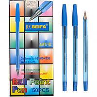 Ручка кулькова 927 синя, Beifa (50)