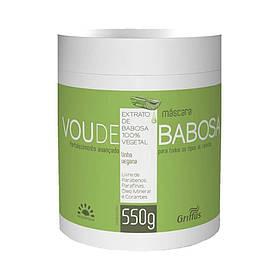 Маска для укрепления и оздоровления волос Griffus Mascara Linha Vegana Vou de Babosa 550 g