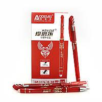 Ручка гелева пише-стирає червона Aodemei (12/144)