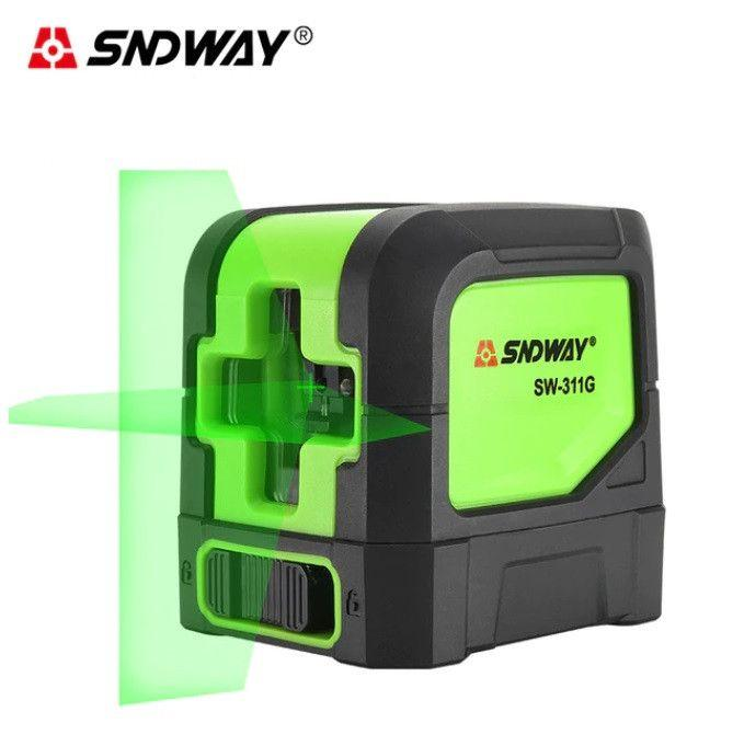 Лазерный уровень - нивелир SW-311G зеленый луч