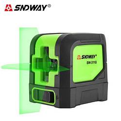 Лазерний рівень нівелір SW-311G зелений промінь