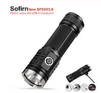 Фонарь дальнобойный Sofirn SP33 V3.0 3500Lm XHP50.2 Type C
