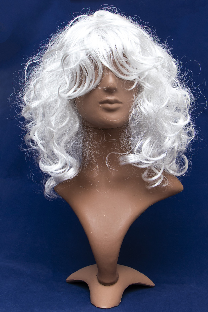 Карнавальный парик Деда мороза без бороды (461370-2)