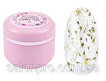 Maxximum Flower Fairy Gel № 03 - гель с сухоцветами (зеленый), 5 мл