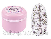Maxximum Flower Fairy Gel № 01 - гель с сухоцветами (фиолетовый), 5 мл