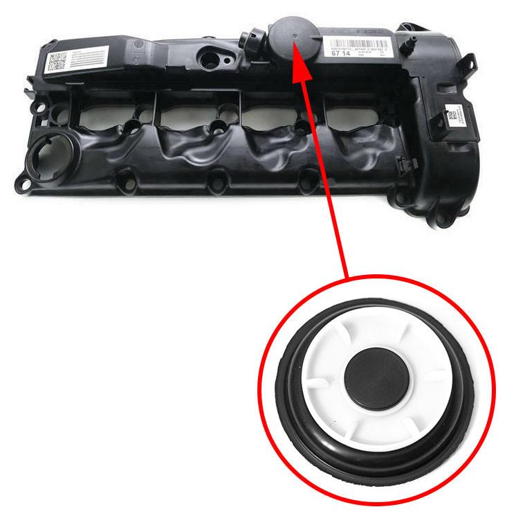 Мембрана клапанной крышки Mercedes OM651 2.2 CDI 6510109118, 6510100630