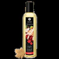 Органическое массажное масло Shunga Organic Massage Oil Maple Delight 250 мл