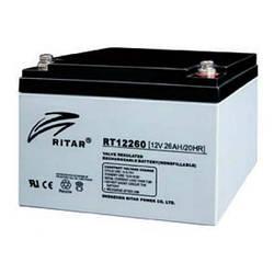 Акумулятор батарея Ritar AGM RT12260, 12V-26Ah